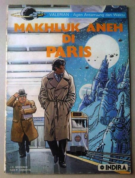 Komik Valerian Makhluk Aneh di Paris komik eropa terbitan
